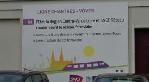 Chartres –Voves, enfin ! En attendant Chartres – Orléans… bientôt