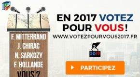 VOTEZ POUR VOUS 2017 !